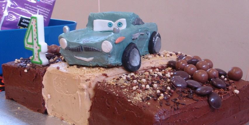 Character Cake Sugarbirdmakes
